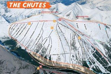 Chutes 18-19 Map